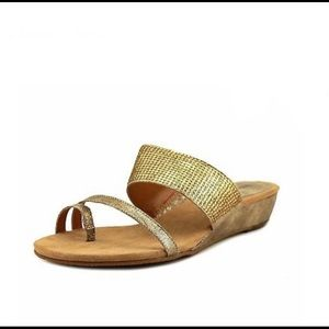 Style & Co gold glitter Sandals